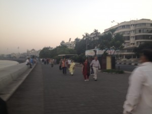 Marine Drive at sunrise
